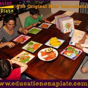 Natalie Simon - Education on a Plate