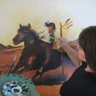 Elina Itzhaki artist painter
