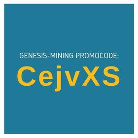 Genesis-Mining Promo Code: CejvXS