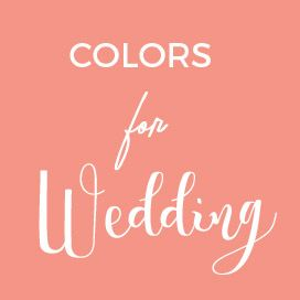 Colors for wedding - Wedding Color Ideas