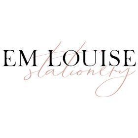 Em Louise Stationery | Printable Wedding Stationery