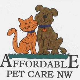 Affordable Pet Care NW