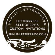 Sunlit Letterpress (Wedding Invitations, Stationery + Cards)