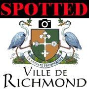 Spotted Ville de Richmond QC