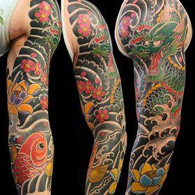 Japanese Sleeve Tattoos