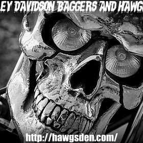 HARLEY DAVIDSON BAGGERS & HAWGS DEN -  RIDES - VANC BC - ALL BIKES WELCOME