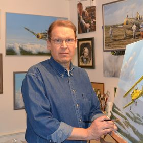Aviation Artist Kari Vertanen