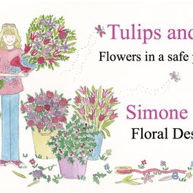 Tulips and Holly Florist