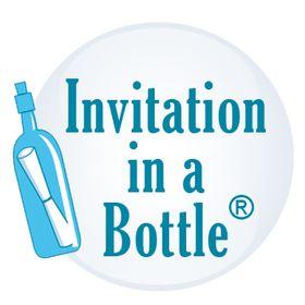 Invitation In A Bottle|bottle message|bottle Art |product
