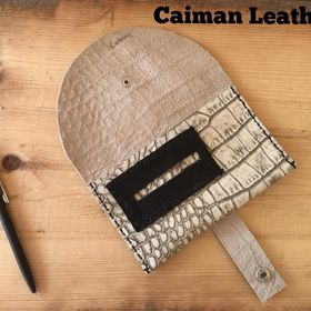 Caiman Leather