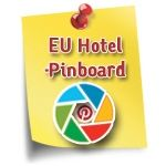 European Hotel Pinboard - Visual Social Media Marketing