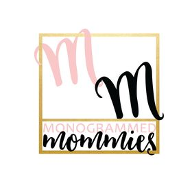 Monogrammed Mommies | Iron On Vinyl Decals