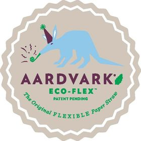 Aardvark Paper Drinking Straws