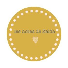les notes de zelda