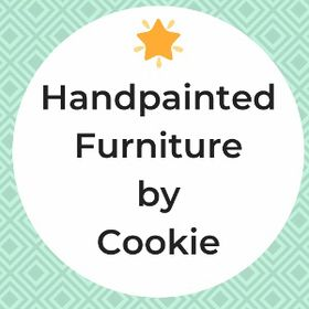 Vintage Painted Furniture -- Handpainted by Cookie
