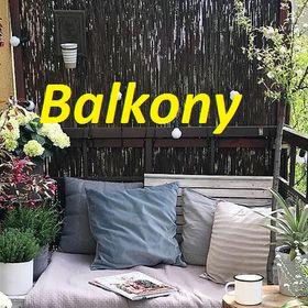 Balkony Balkonydekor On Pinterest