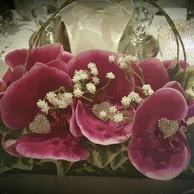 Crystal floral designs