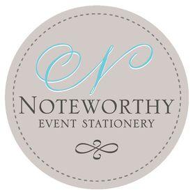 Noteworthy Event Stationery