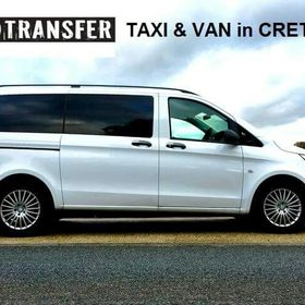 Taxi Mini Van Transfer Service in Crete