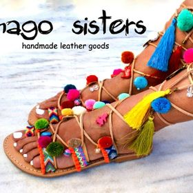 magosisters/ leather sandals