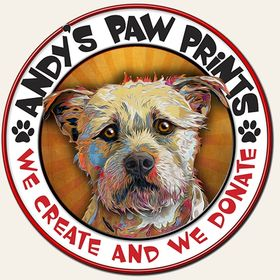 Andy's Paw Prints - Custom Pet Portraits