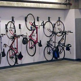 Wall Mount Bike Racks and Security Cages NYC