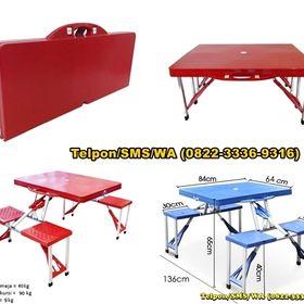 Meja lipat untuk promosi di Jakarta