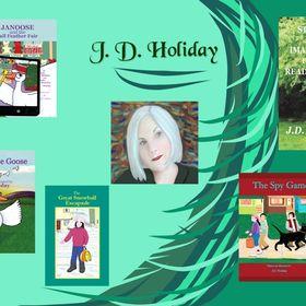 Author & Illustrator, Jd Holiday