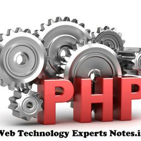 Web Technology Experts Notes- Php Tutorial Php