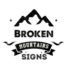 Broken Mountains Signs