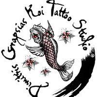 Dimitris Grapsias Koi-Tattoo