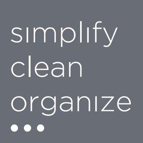 Simplify-Clean-Organize