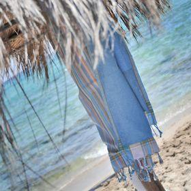 Blue Summer Travel Essentials