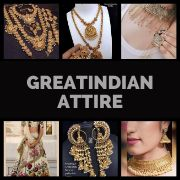 GreatindianAttire INDIAN Saree | Necklace | Bangle | Earrings