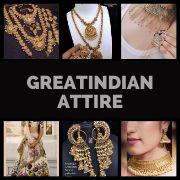 GreatindianAttire INDIAN Saree | Necklace | Bangle | Earrings