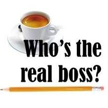 Who's the real boss?