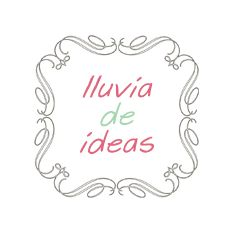Lluvia de ideas .