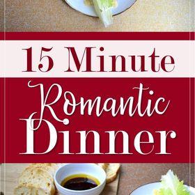 romantic dinner recipes bon appetit
