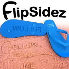 b34fd4f97c24d Flip Sidez - Sand Imprint Flip Flops (flipsidez) on Pinterest