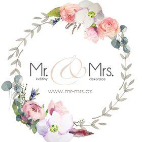 Mr.& Mrs. květiny - dekorace