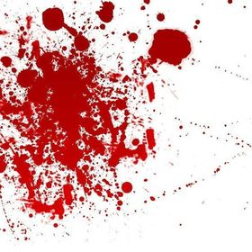 Splats Of Blood