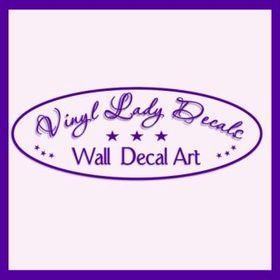 Vinyl Lady Decals