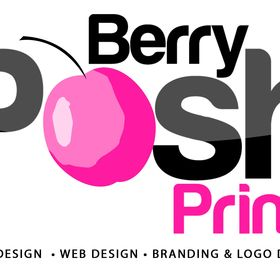 Berry Posh Prints