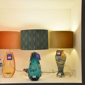 Porcelain lamps Glass lamps