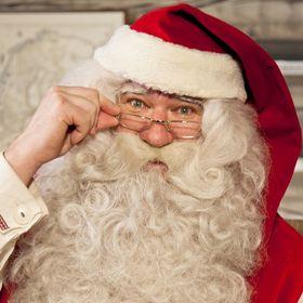 Christmas House Santa