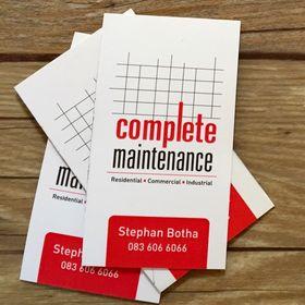 Complete Maintenance