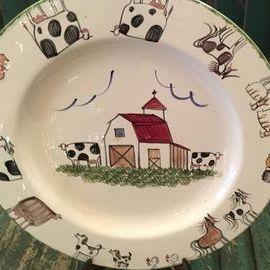 Molly Dallas Pottery/ Spatterware
