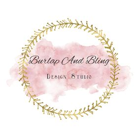 Burlap And Bling Design Studio