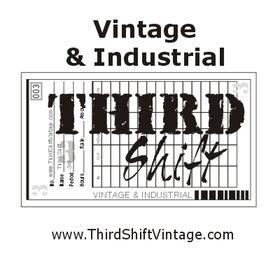 ThirdShift Vintage | Unique Vintage & Industrial Home Decor