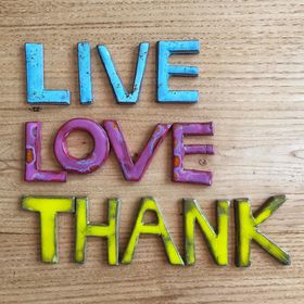 Live Love Thank